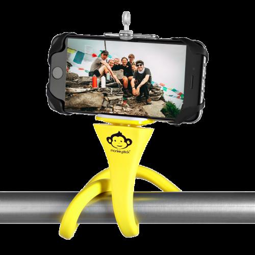 Flexible Phone Mount   Yellow