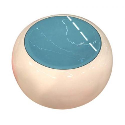 Moon Table White/Blue