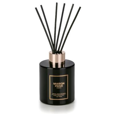 Luxus-Aroma-Schilfrohr-Diffusor | Pfingstrose & Blush-Suede
