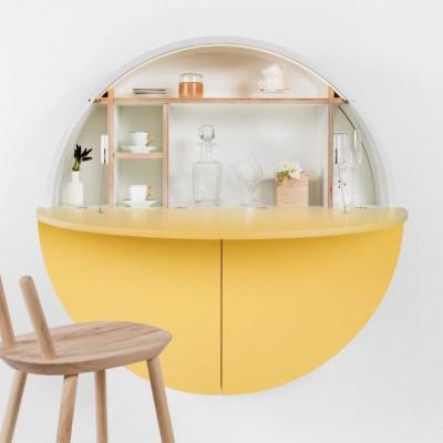 Desk Pill | White / Yellow