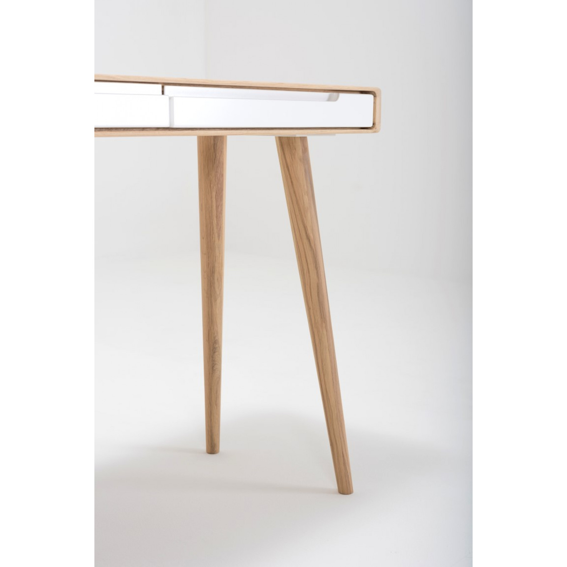 Dressing Table Ena   White Hardwax Oiled