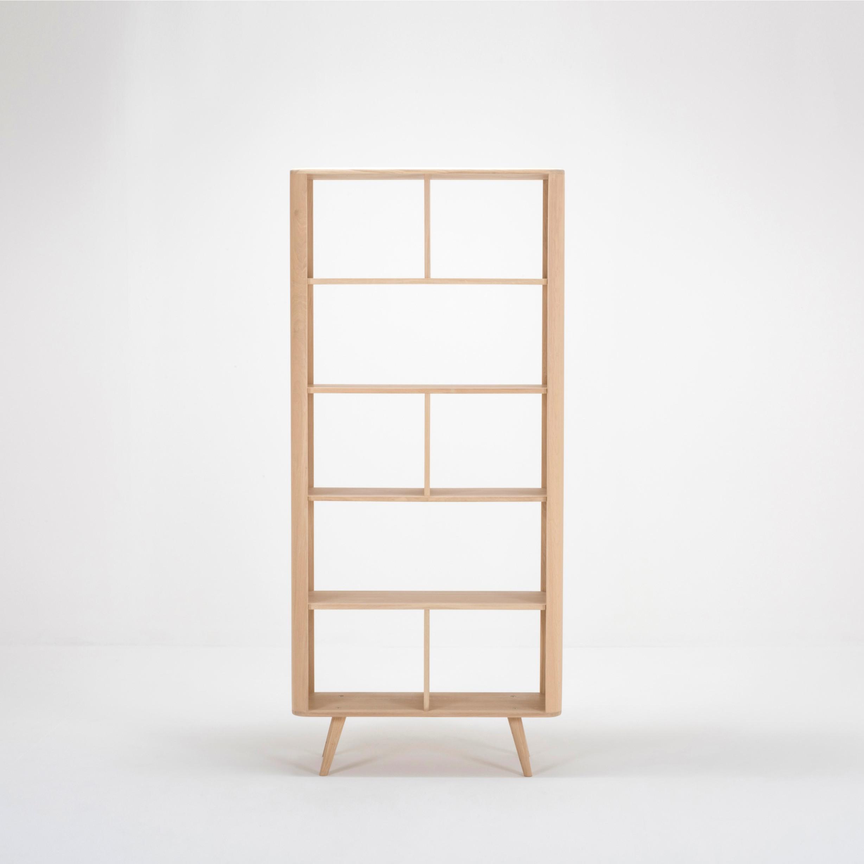 Room Divider Ena | White Hardwax Oiled