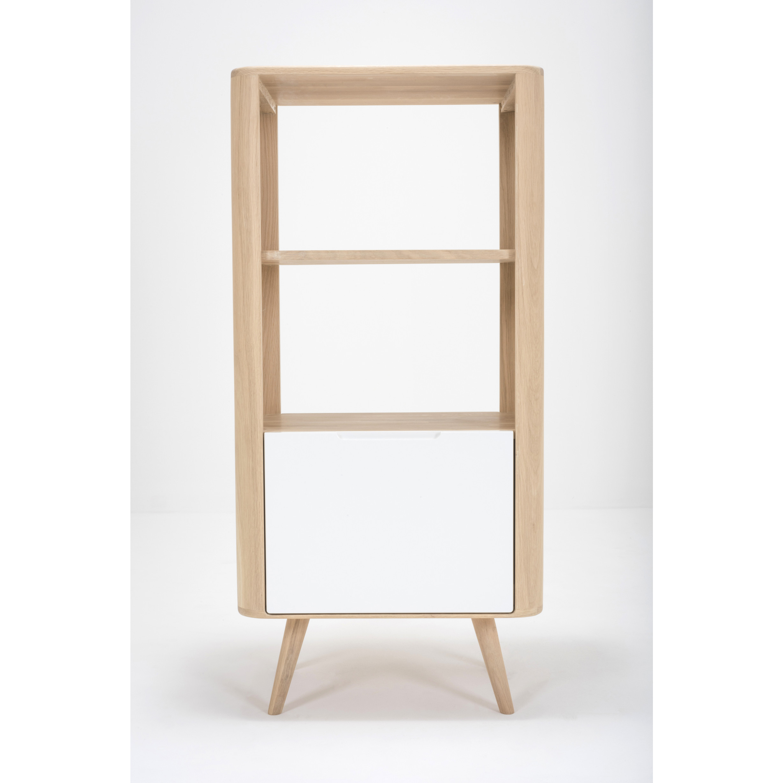 Shelf Ena | White Hardwax Oiled-Medium