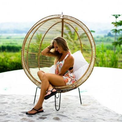 Hängender Stuhl Cora | Natural