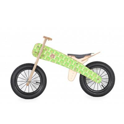 "Runbike   Green Bears (10"" wheels)"