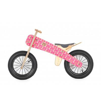 "Runbike   Pink Bears (10"" wheels)"