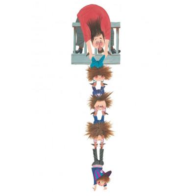 Wandaufkleber 37 x 140 cm | Hang On XL