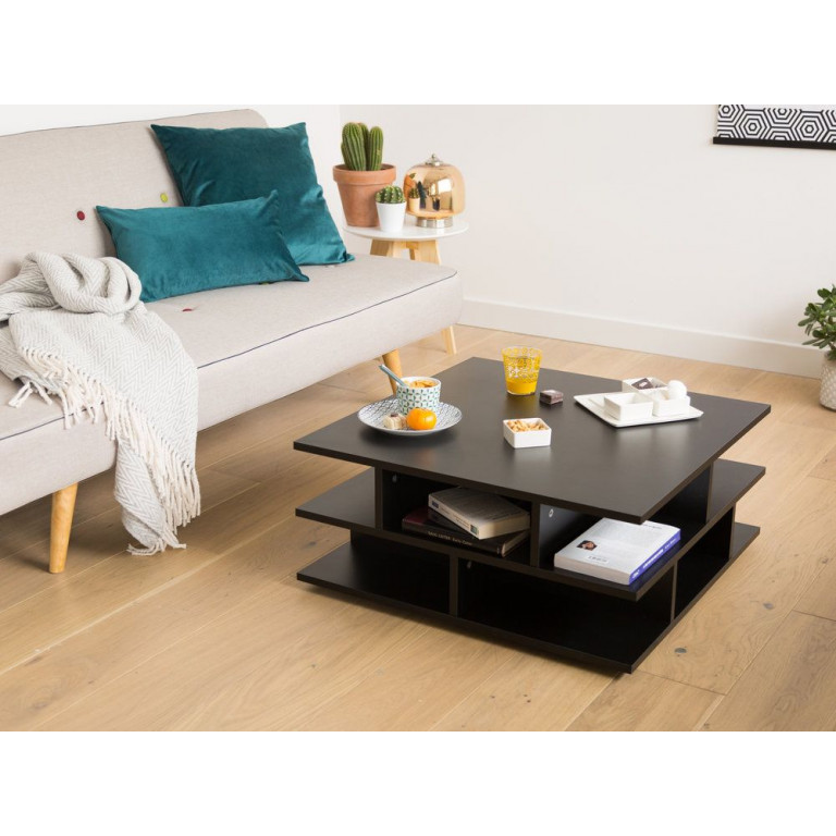 Mille Feuille Coffee Table   Black