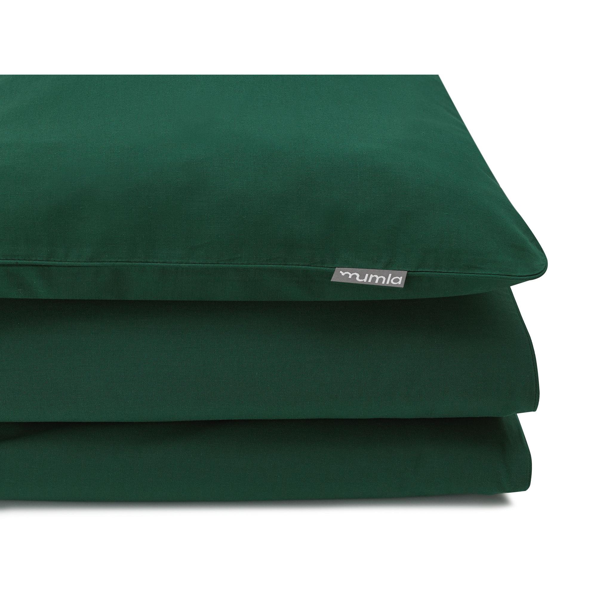 Bettwäsche-Set   Basic Grün