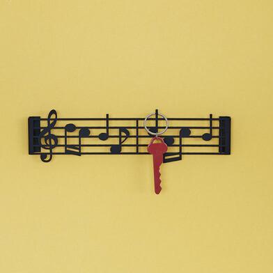 Schlüsselanhänger Musik | Schwarz