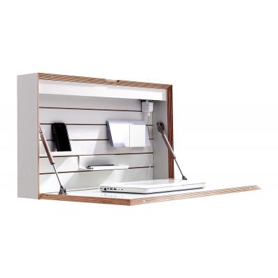 Wandschreibtisch Flatbox | Weiß