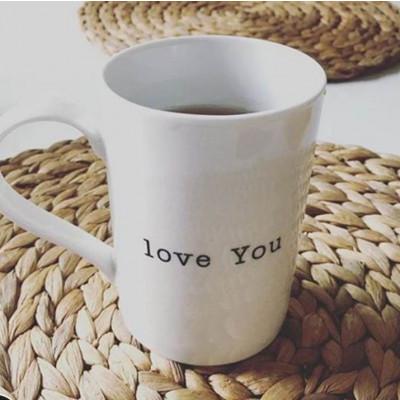 Mug Love You | Weiß