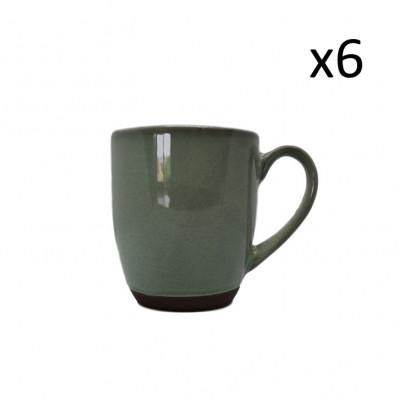 Becher Hamuza 22 cl 6er-Set   Grün