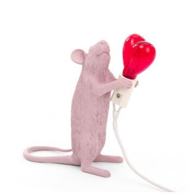 Lampe Maus Liebe Edition   Rosa