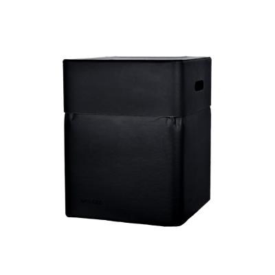 Box-Stuhl 46 cm | Schwarz
