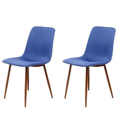 Chairs Muriel - Set of 2 | Blue