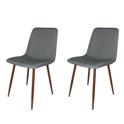 Chairs Muriel - Set of 2 | Silver