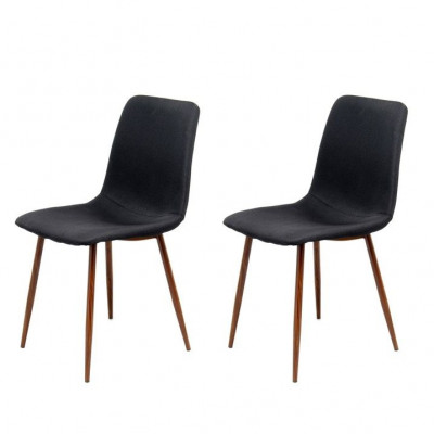 Chairs Muriel - Set of 2 | Black