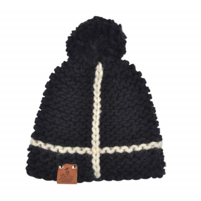 Knitted Hat Lex | Black