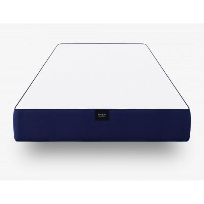 Leichte Matratze ohne Auflage | Blau