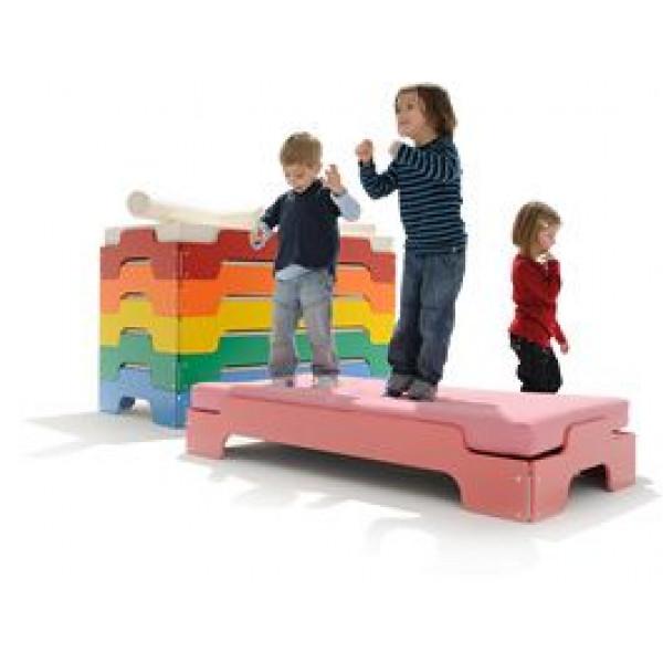 Stapelbetten für Kinder - Blau