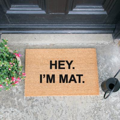 Paillasson I'm Mat
