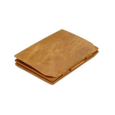 Geldbörse für Munzen RFID Essenziale | Cognac Gebürstet