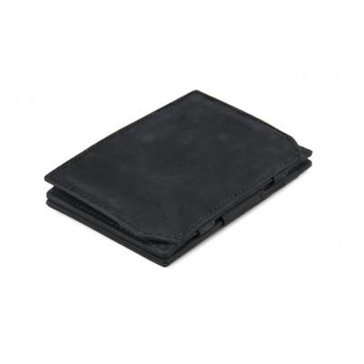 Geldbörse für Munzen Essenziale RFID | Schwarz