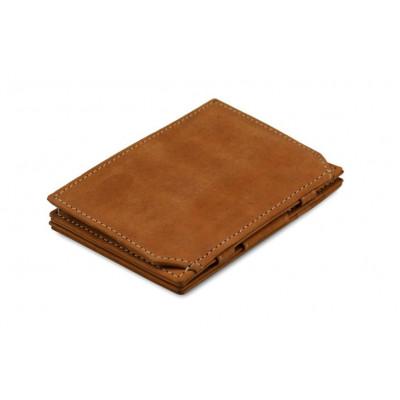 Geldbörse für Munzen RFID Essenziale | Camel Braun
