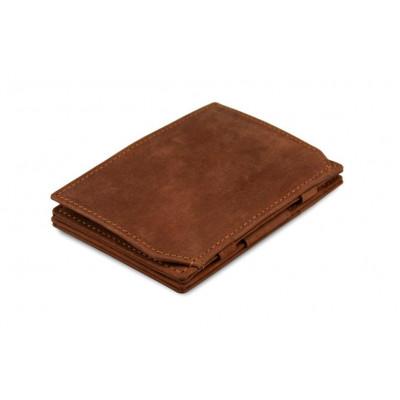 Geldbörse für Munzen RFID Essenziale | Java Braun