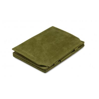 Geldbörse für Munzen RFID Essenziale | Olivgrün