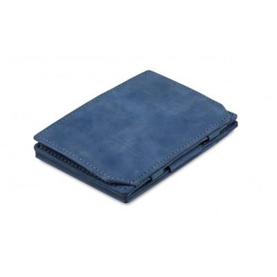 Geldbörse für Munzen RFID Essenziale | Saphirblau