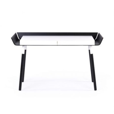Schreibtisch 'Mein Schreibtisch' | Schwarz/Weiß