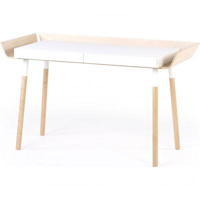 Schreibtisch 'Mein Schreibtisch' | Natürlich/Weiß