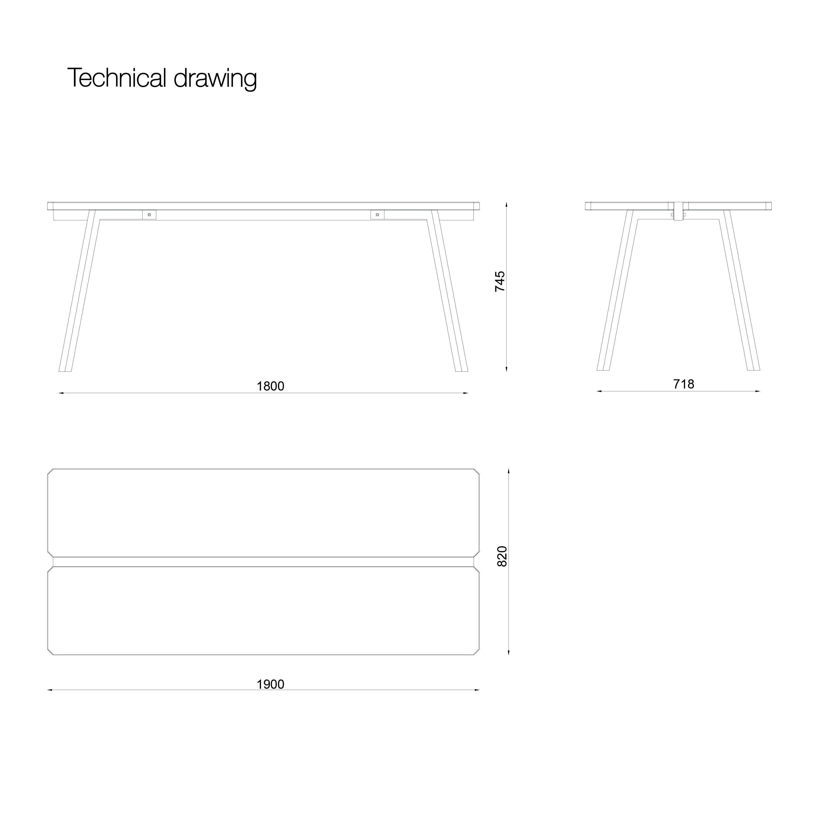 Myway-Tisch   Weiß