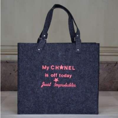 My Chanel is off today | Dark Grey