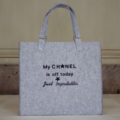 My Chanel is off today | Light Grey