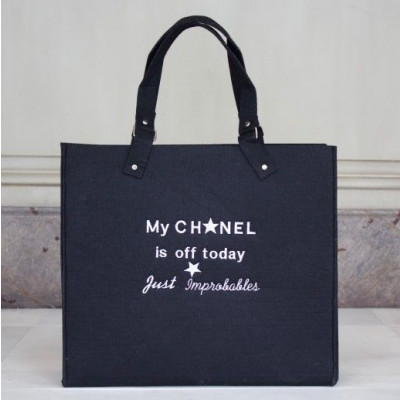 My Chanel is off today | Black