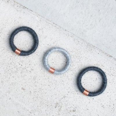 Handmade Bracelet   Den Haag Dark Gray