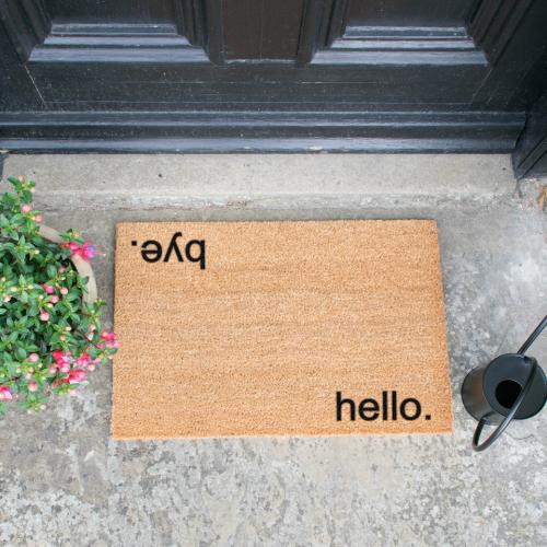 Doormat | Hello, Bye
