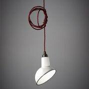 Lampenschirm Cloche | Weiß