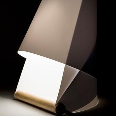 Furoshiki Tischlampe Weiß