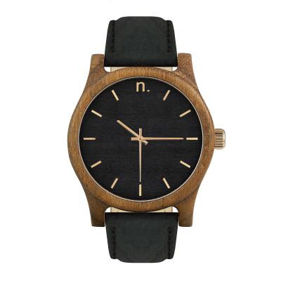 Uhr Herr CLASSIC 43   Schwarz & Gold