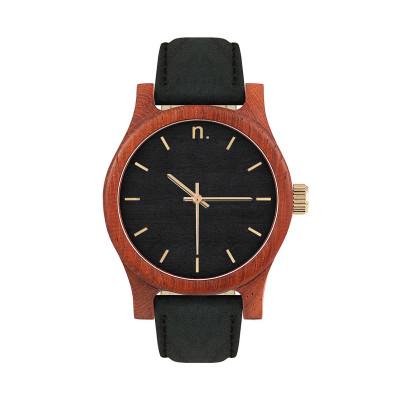Uhr Frau CLASSIC 38   Schwarz & Gold