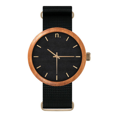 Uhr Herr NEW HOOP 43 4   Schwarz & Gold
