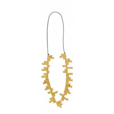 Halskette Lang Gelb