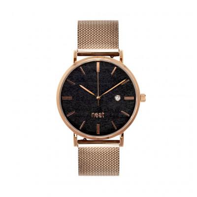 Uhr Herr STALOWY 36   Schwarz & Gold