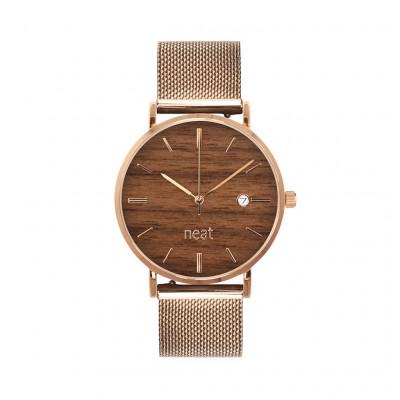 Uhr Herr STALOWY 36   Braun & Gold