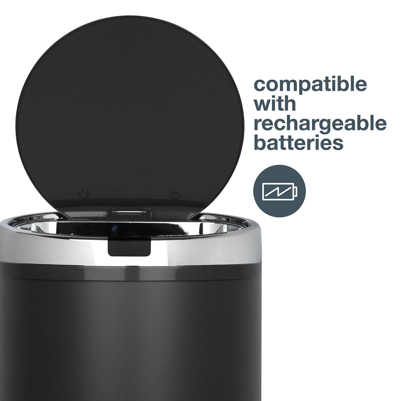 Automatischer Abfallbehälter | 30 L | Dunkelgrau