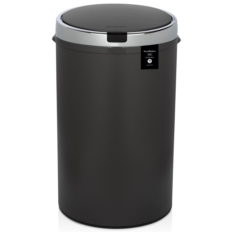 Automatischer Abfallbehälter | 42 L | Dunkelgrau